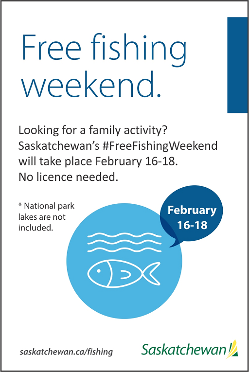 Celebrate Family Day Weekend With Free Fishing – Wakaw Recorder